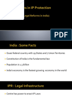 Recent Legal Reforms in India's Intellectual Property Protections
