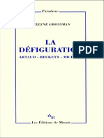 La défiguration_Grossman