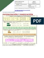 Potenciacion y Radicacion