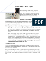 Tips on Writing a News Report.docx
