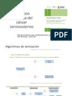 Detección temprana del CA de Cervix, guía para Colombia
