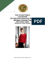 Windowpane Crochet Top (Crochet)