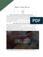 Filmora Video Editor tutorial.docx