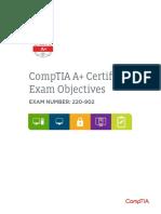 Comptia a 220 902 Exam Objectives