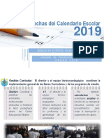 Calendario Anual 2019 en PDF