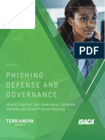 ISACA - Phishing Defense and Governance (English)