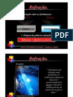 Física - Óptica - Refração