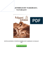 Pulippani Jothidam by Nakkirar s Natarajan