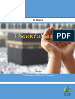Thankfulness - Sheikh Muhammed Salih Al-Munajjid