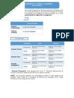 Cronograma Actividades Distancia 20153