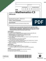 June 2014 (R) QP - C1 Edexcel