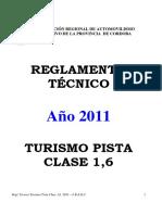 Tecn Turismo Pista Clase 16 2011