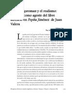 El Bildungsroman y El Realismo La Mujer Como Agente Del Libre Albedrío en Pepita Jiméneza de Juan Valera Por Sohyun Lee (1)
