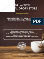 DR MITIC Herbal drops store Product catalog HRVATSKI 31.03.2019