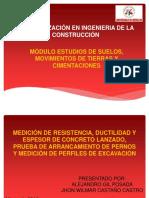 Ensayos a La Protección de Túneles