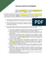 Manifiesto de No Conflicto de Intereses TEA- 2019