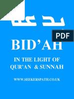 The Bidah Article SeekersPath