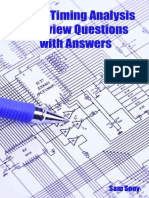 Sam Sony - Static Timing Analysis Interview Questions (0)