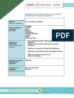 02 - Formato Secuencia Didáctica 1 Periodo Proyecto Lector Segundo 2019