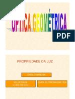 Física - Óptica Geométrica - Roteiro