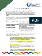 Trainer Skills