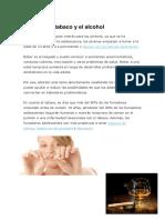 Efectos Del Tabaco y El Alcohol