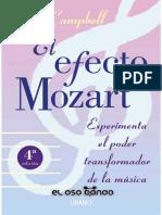 El Efecto Mozart Don Campbell