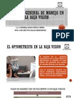 Atención Optometrica en La Baja Visión