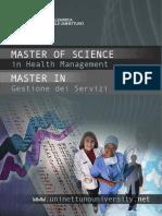 Brochure Master HEalthManagement