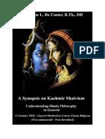 A Synopsis on Kashmir Shaivism.pdf