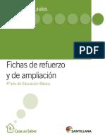 4º guias de refuerzo y ampliación todas las unidades.pdf
