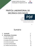 Análise granulométrica de Solos - Campo Grande MS