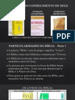 Apresentação Sobre a Bíblia