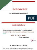 ÁCIDOS OXÁCIDOS