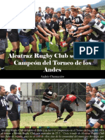 Andrés Chumaceiro - Alcatraz Rugby Club Se Coronó Campeón Del Torneo de Los Andes