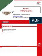 Sesion 4. Utilitarios Online