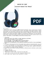 Users Manual 3437176miniso