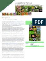 Biologia Vegetal Plantae