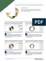 RhinoGold 4.0 - Level 1 - Tutorial 018P - Sliced Ring