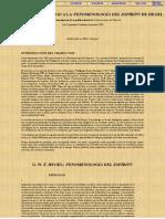Lectura 1.Traducción del prólogo a la fenomenología del espíritu de Hegel