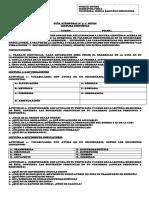 Guía atemporal 1,  1°  medio, FISICA
