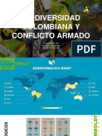 Biodiversidad y conflicto armado
