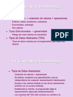 TIPOS DE DATOS ABSTRACTOS