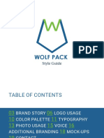 Wolf Pack Style Guide
