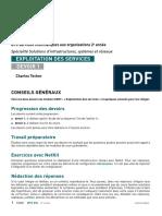Devoir 01 Exploitation Des Services