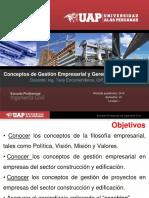 Unid I_Sem 1_Conceptos de GE y GP UAP