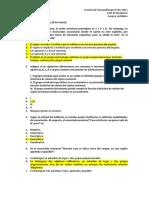 Ejercitación Múltiple Opción - Lengua Castellana - RESPUESTAS