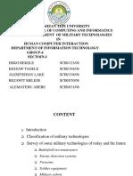Military Technologies (1)