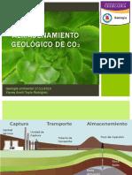 Almacenamiento Geologico de CO2
