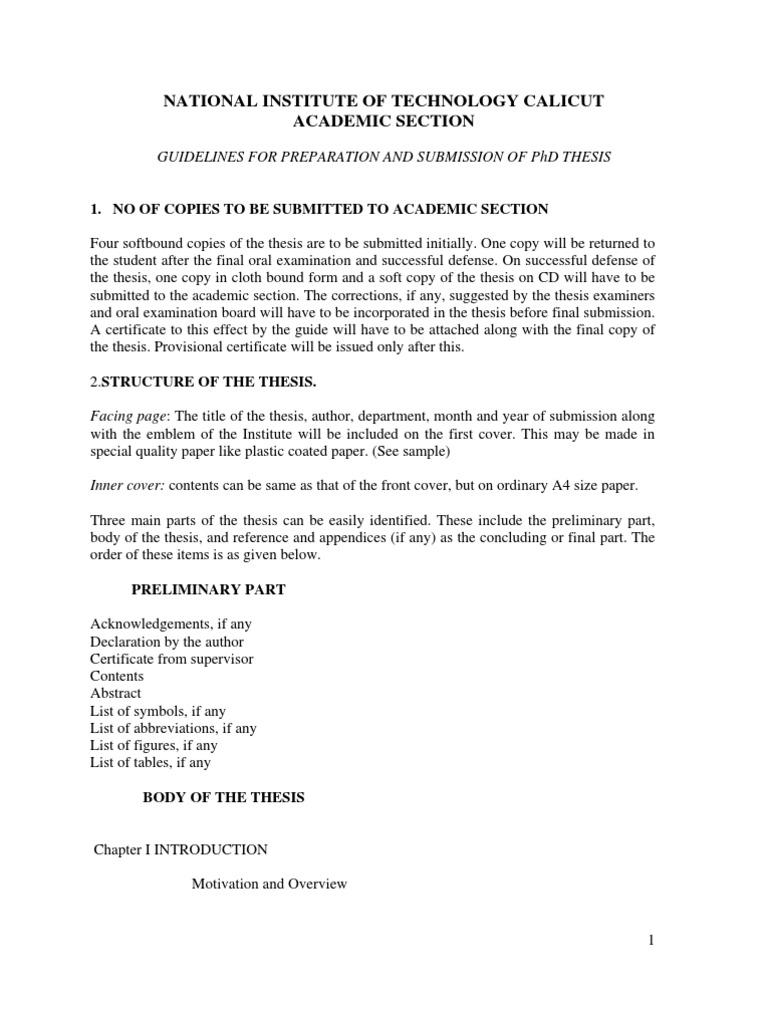 uptu phd thesis format